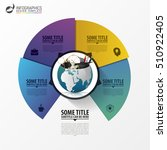 infographic design template.... | Shutterstock .eps vector #510922405