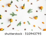 christmas composition.... | Shutterstock . vector #510943795