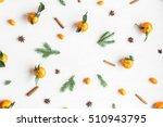 christmas composition.... | Shutterstock . vector #510943795