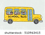 School Bus Old And Funny...