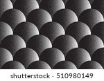 vector hand made dotwork... | Shutterstock .eps vector #510980149