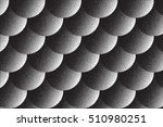 vector hand made dotwork... | Shutterstock .eps vector #510980251