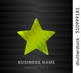 star lime green and black silk...