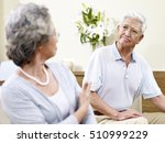 senior asian couple having a... | Shutterstock . vector #510999229