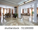 luxury home interior with lobby ... | Shutterstock . vector #51100300