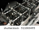 car engine inside view close up | Shutterstock . vector #511003495