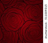decorative floral background... | Shutterstock .eps vector #511009315