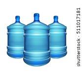 bottle water big | Shutterstock .eps vector #511017181