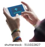 communication connection... | Shutterstock . vector #511022827