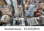 new york city. manhattan aerial ... | Shutterstock . vector #511032814
