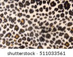 Leopard Fur Texture Background.