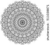 mandala. ethnic decorative... | Shutterstock .eps vector #511038871
