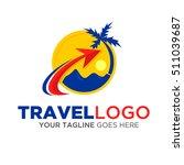 travel logo vector eps.10 | Shutterstock .eps vector #511039687