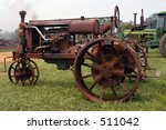 antique tractor | Shutterstock . vector #511042