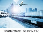 container trains  commercial... | Shutterstock . vector #511047547
