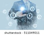 sns social networking service ... | Shutterstock . vector #511049011