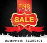 sale banner template design ...   Shutterstock .eps vector #511053601
