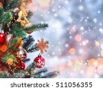 Christmas Tree Background And...