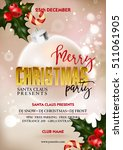 Merry Christmas Party Poster...