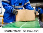package boxes of ready meals...   Shutterstock . vector #511068454