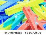 set of plastic clothespin | Shutterstock . vector #511072501