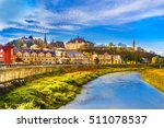 Small photo of Panoramic view over the medieval fortress Sighisoara city, Transylvania, Romania