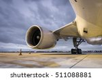 jet engine at night | Shutterstock . vector #511088881