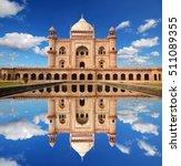 safdarjung's tomb is a... | Shutterstock . vector #511089355