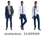 handsome business black man | Shutterstock . vector #511099639