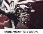 the interior in a convertible... | Shutterstock . vector #511101091