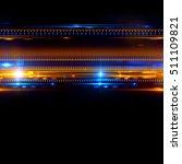 beautiful light flares. glowing ... | Shutterstock . vector #511109821