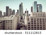 instagram look on downtown of... | Shutterstock . vector #511112815