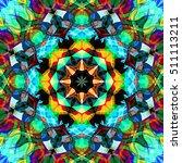 digital painting beautiful... | Shutterstock . vector #511113211