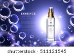 cosmetic ads template  essence... | Shutterstock .eps vector #511121545
