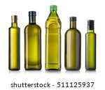 olive oil bottles isolated on... | Shutterstock . vector #511125937
