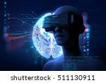 3d rendering of virtual human...   Shutterstock . vector #511130911