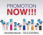 smartphone poster | Shutterstock .eps vector #511131961