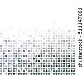 black random dots background ... | Shutterstock .eps vector #511147681