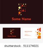 creative letter f design vector ... | Shutterstock .eps vector #511174021