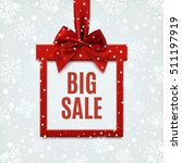 big sale  square banner in form ... | Shutterstock .eps vector #511197919