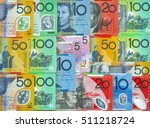 australian currency dollars ... | Shutterstock . vector #511218724