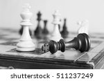 chess photographed on a... | Shutterstock . vector #511237249
