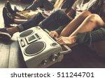 music entertainment lifestyle... | Shutterstock . vector #511244701