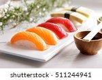 portrait of japanese food... | Shutterstock . vector #511244941