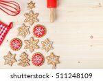 Baking Tools And Christmas Tre...