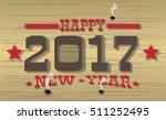 2017 Happy New Year Western
