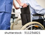 nurse taking care of a patient... | Shutterstock . vector #511256821