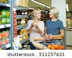 happy european girl and mature... | Shutterstock . vector #511257631