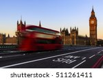 london  england  uk. red buses... | Shutterstock . vector #511261411