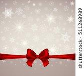 winter christmas background... | Shutterstock . vector #511268989